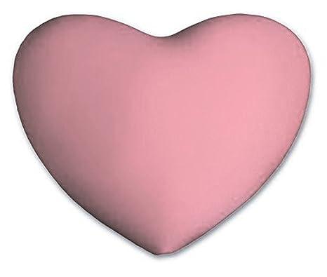Amazon.com: Almohada en forma de corazón, color – Luz Azul ...