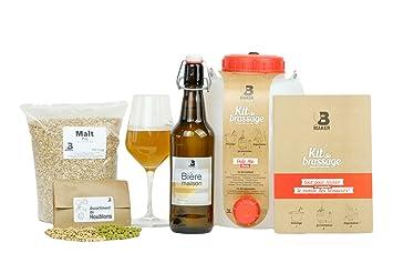 e5b76bf8152e B Maker • Kit Biere • IDEE Cadeau Homme Femme • Kit Brassage Biere a Faire