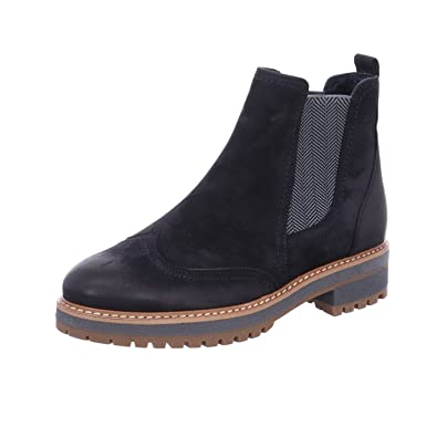 Paul Green Damen Stiefeletten 9467 023 blau 531928: Amazon