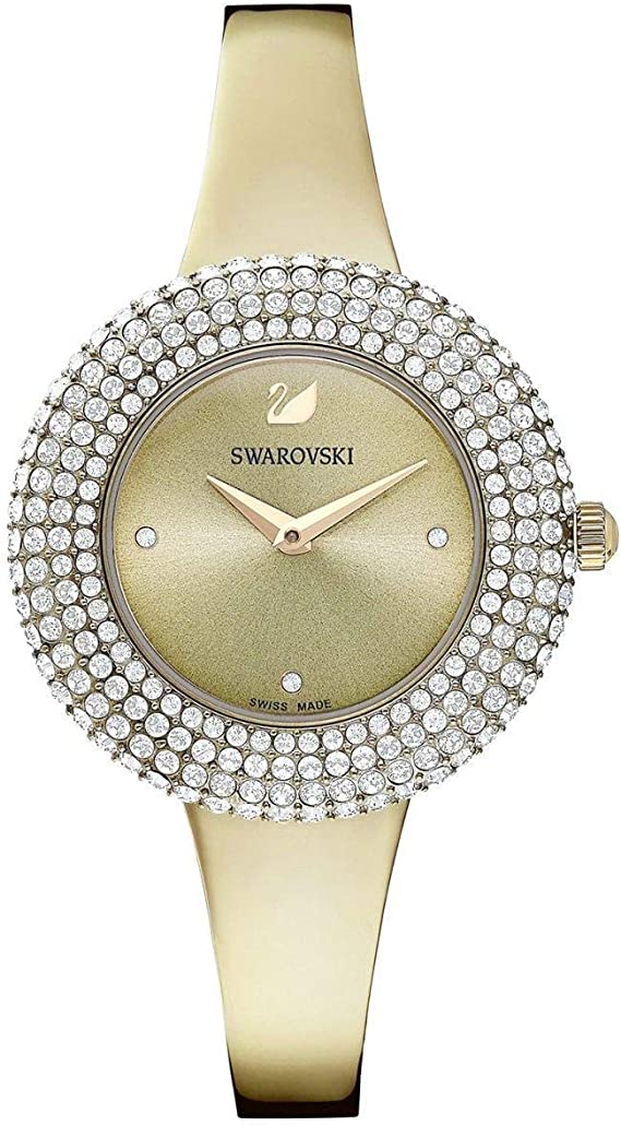 Orologio Solo Tempo Donna Swarovski Crystal Rose Trendy Cod 5484045 Amazon It Orologi
