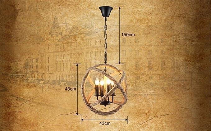 Europa vintage ciondolo lampada legno luci luci 3 pendente de teto