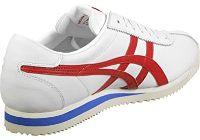 17ca79288356ea Onitsuka Tiger - Tiger Corsair White/True Red - Sneakers Homme: Amazon.fr:  Chaussures et Sacs