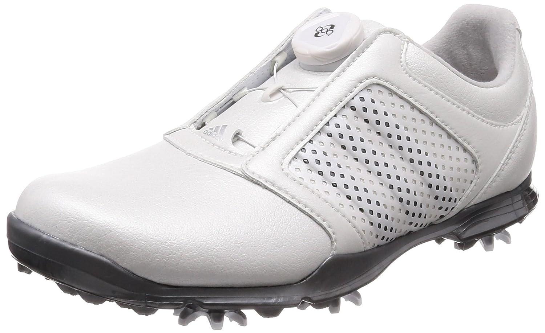 [アディダスゴルフ] ゴルフシューズ ウィメンズ アディピュア ボア B079YTZ7HK  ホワイト/ナイトメタリック/ナイトメタリック 24.0 cm