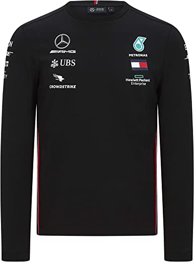 Formula 1 - Camiseta de Manga Larga para Hombre, Talla XS ...