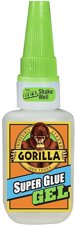 Gorilla Super Glue Gel 15 G Clear 8 Pack Amazon