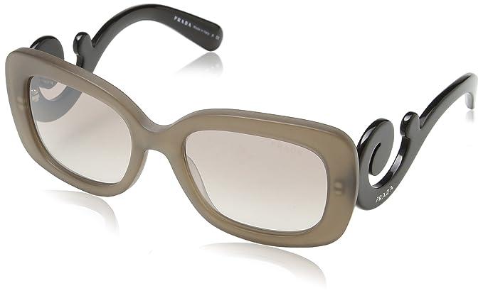 4765a22f40c6 Prada Sunglasses 27OS Dark Brown Mat Trasp
