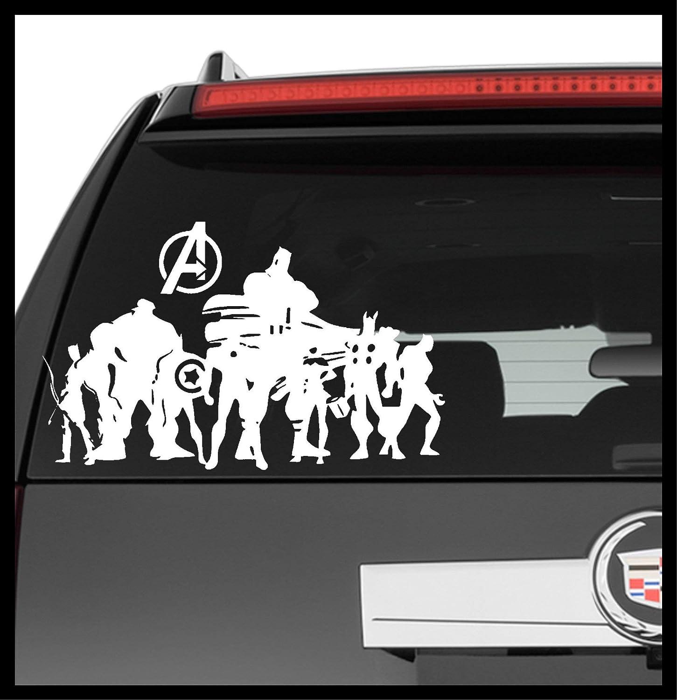 Buy Captain Carol Danvers Star Hood V1 U S Navy Air Force Nasa Kree Empire Car Ell Girl Woman Superhero Comic Car Vinyl Sticker Decal