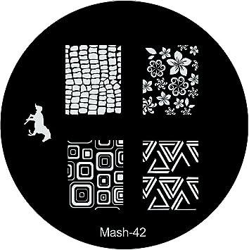 Amazon Mash Nail Art Stamp Stamping Image Plate No 42 Nail