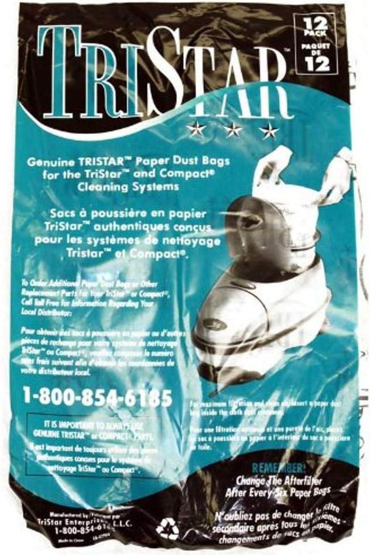 Tristar Enterprises, Llc 70305 Paper Bag, Compact/Tristar 12 Pk