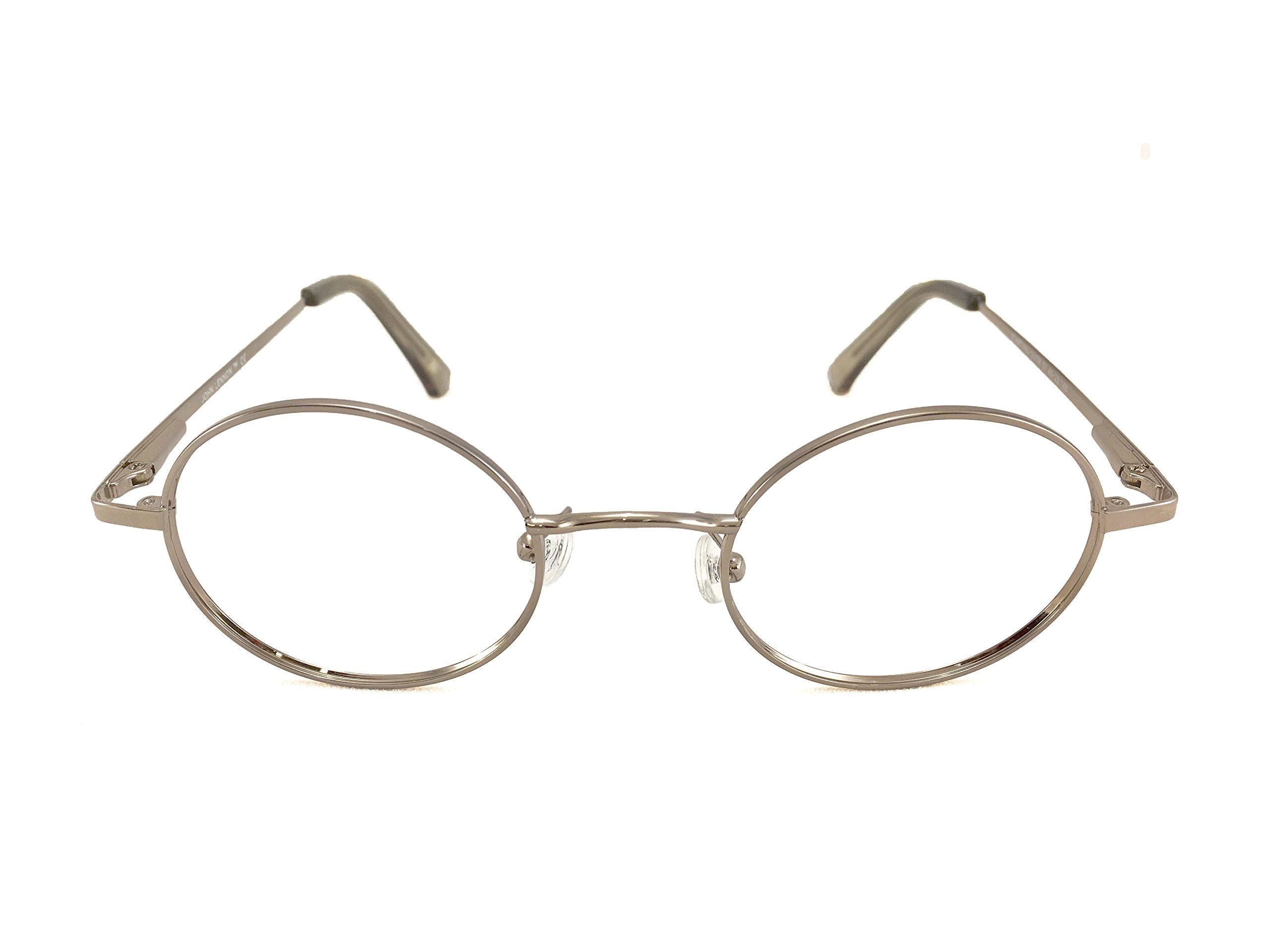 John Lennon Starting Over Eyeglass Frame - Silver by John Lennon