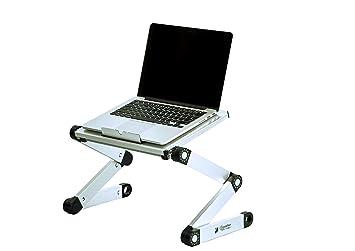 Amazoncom Portable Adjustable Aluminum Laptop DeskStandTable