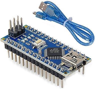 Amazon.com: Arduino Uno R3 - Kit de microcontrolador basado ...
