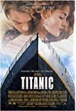 "Titanic Movie Poster (Leonardo Dicaprio) - Size 24"" X 36"" - This is a Certified Poster Office Print with Holographic Sequential Numbering for Authenticity."
