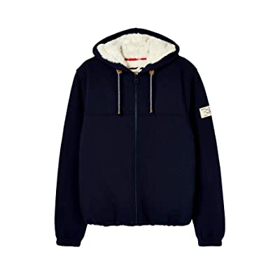 Joules Ladies Joanna Zip Through Fleece Lined Hoodie at Women's Clothing store