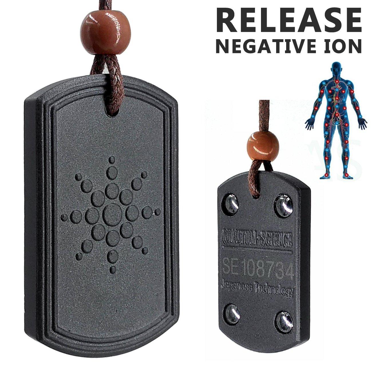 Electromagnetic Radiation Protection Necklace: Amazon.com: Keeping Sports Anti Radiation Shield EMF
