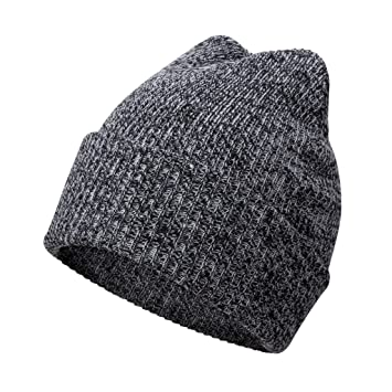 A.P. Donovan - Gorro de Invierno en algodón | Sombrero del Invierno Hizo Punto el Sombrero | Gorro de Lana Beanie Hombre - Gris: Amazon.es: Deportes y aire ...