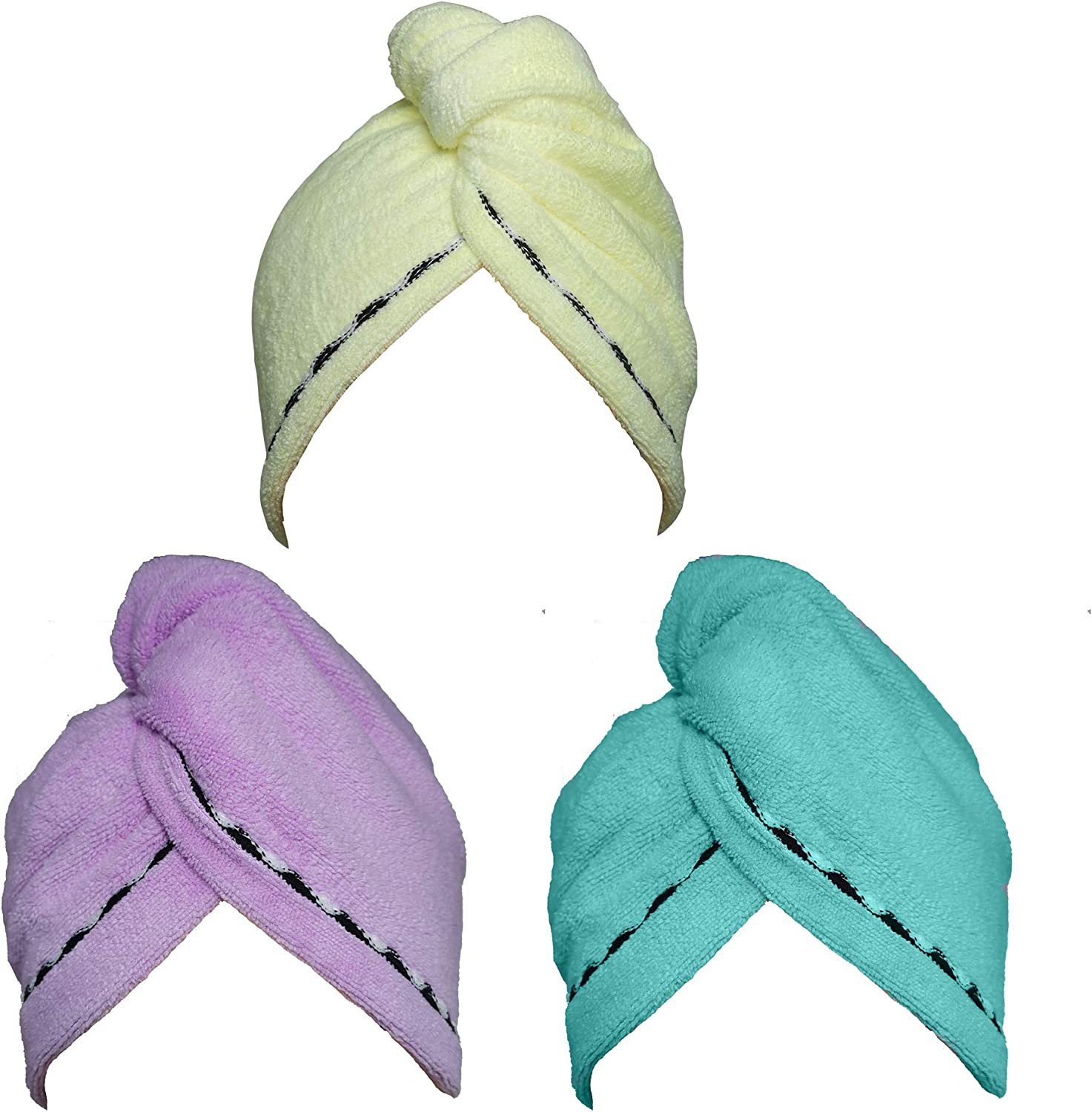 Amazon Promo Code for Hair Towel Wrap Turban 3 Pack