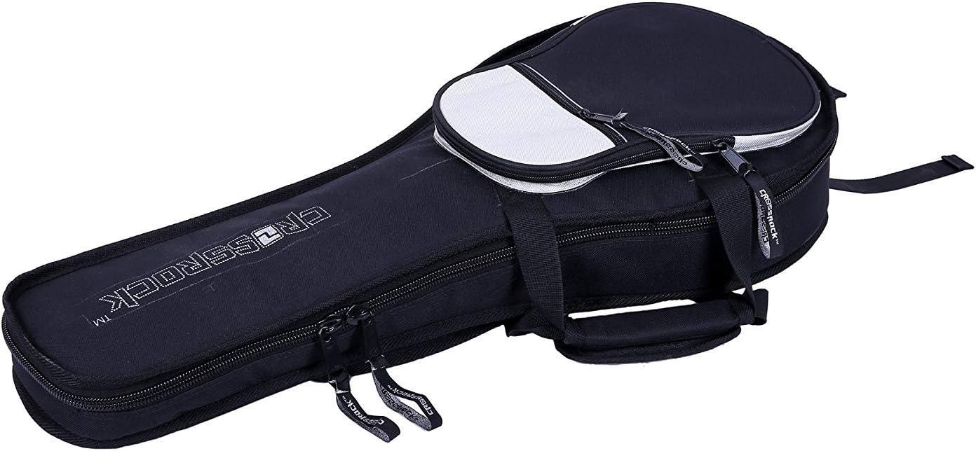 Crossrock CRSG106 Series 4//4 Full Size Classical Guitar Bag 10mm padding entry