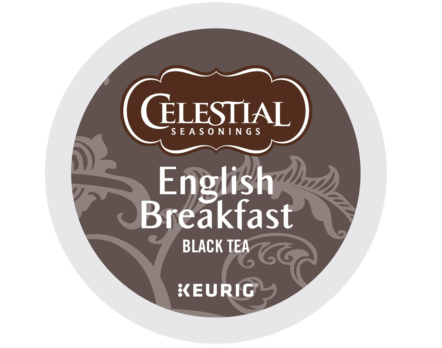 Celestial Seasonings English Breakfast Black Tea, Single Serve Coffee K-Cup Pod, Tea, 72
