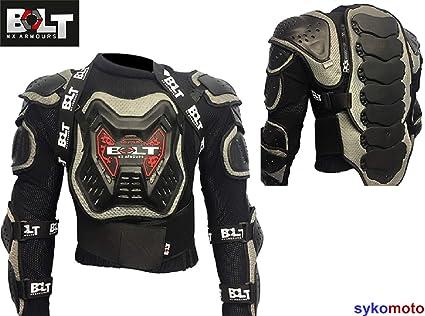 Gearx Moto Motocross Armure Corporelle Skateur Snowboards Protec Veste Toutes tailles/…