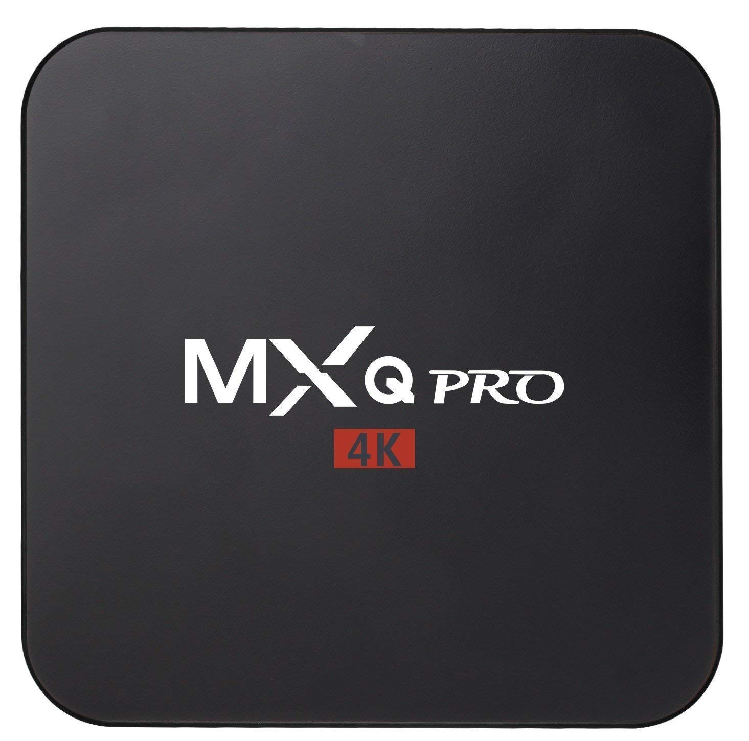MXQ Pro 4K Android 7.1 TV Box S905X Quard-core 1G+8G Wi-Fi Embedded UHD 4K H.264 Media Center Smart OTT TV Box by Aimpire