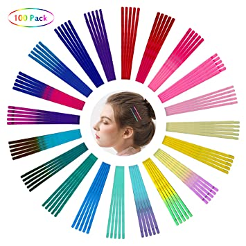 Women Fashion Candy-Colored Hairpins Catch Hair Clips Bobby Pin Hair Accessories