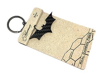 Llavero de fibra de carbono Bataman, Diseño de Batman signo ...