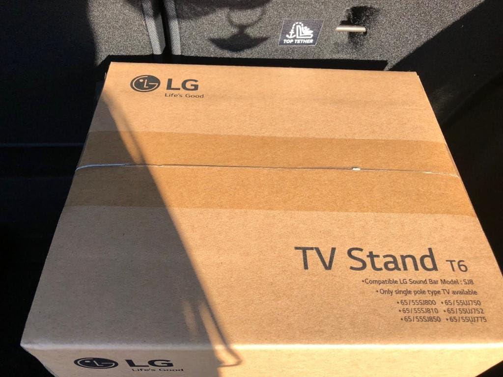 LG T6 - Soporte para TV, Color Negro: Amazon.es: Electrónica