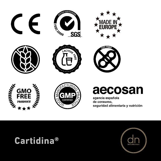 CARTIDINA 20 STICKS | DN DIRECT NUTRITION , Regeneración ...
