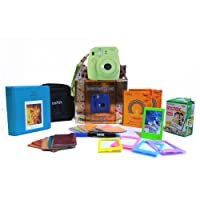 Fujifilm Instax Mini 9 Festive Pack Instant Camera (Lime Green)
