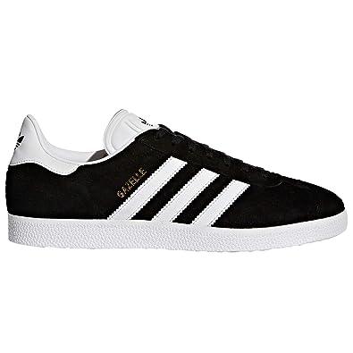 timeless design 3eaf8 be223 Adidas Gazelle Chaussures Homme. Nobuk Sneaker, Trainer, (42 EU, Core Black