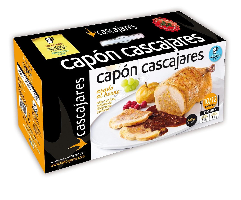 CASCAJARES - Capón relleno de Foie, Orejones de Albaricoque y ...