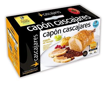 CASCAJARES - Capón relleno de Foie, Orejones de Albaricoque y Piñones. Capón relleno de