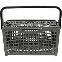 SOLUSTRE Porta-talheres para máquina de lavar louça, cesto de talheres, suporte seco, facas de garfo, caixa de…