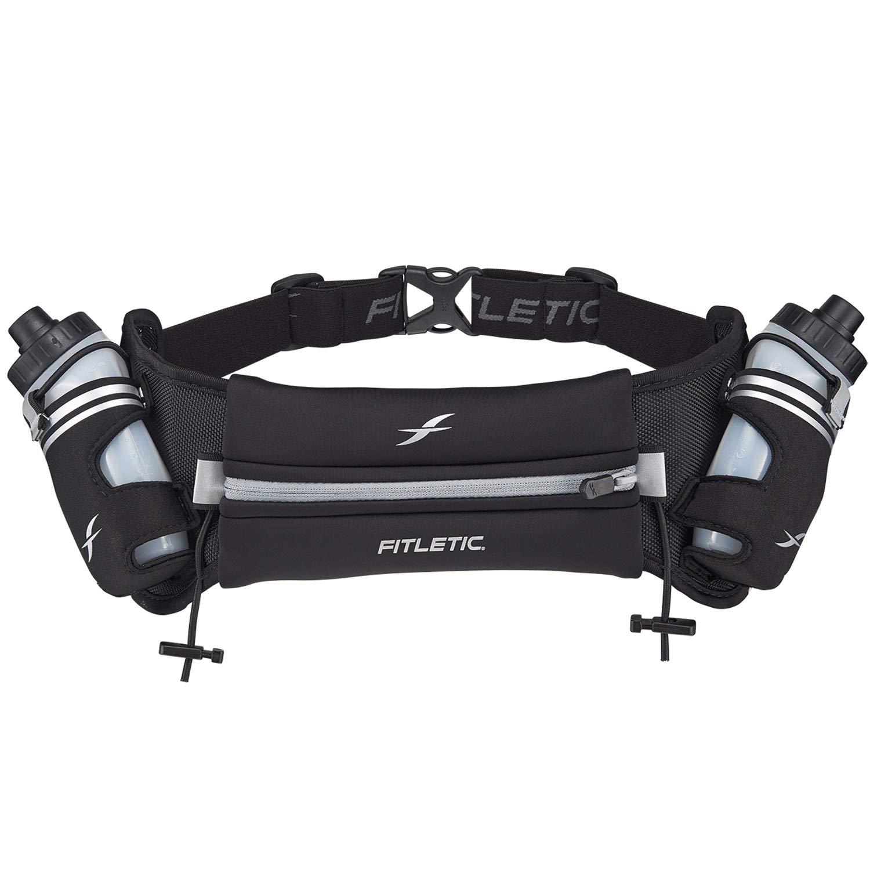 Fitletic Hydration Belt S/M Black & Grey