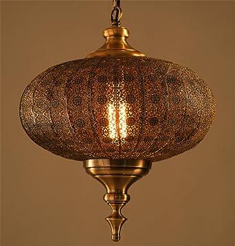 Fer Forge Suspensions Lumieres Lustre Lanterne Led Pendentif Lustre