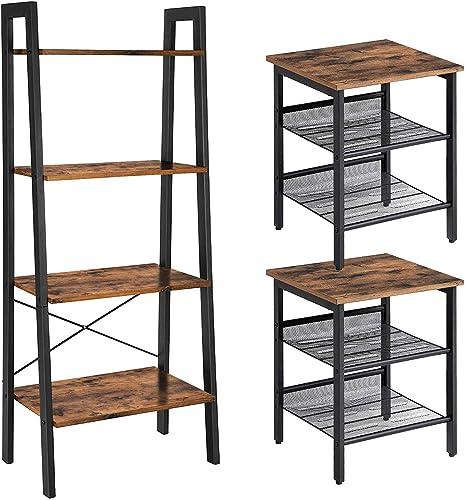 VASAGLE INDESTIC Ladder Shelf