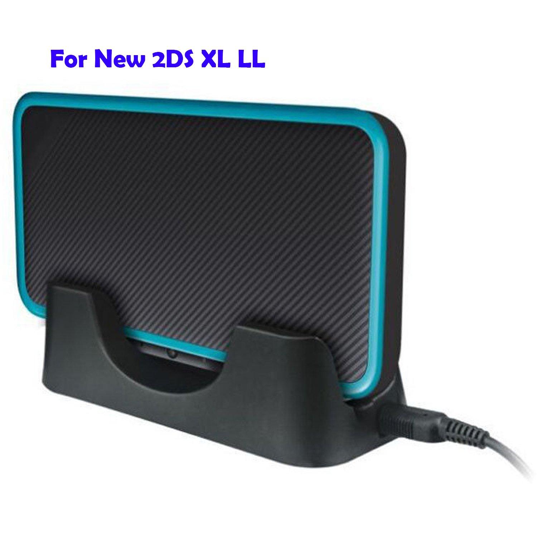 QUMOX Nintendo Nuevo 2DS XL LL 2017 Cargador de la estación ...