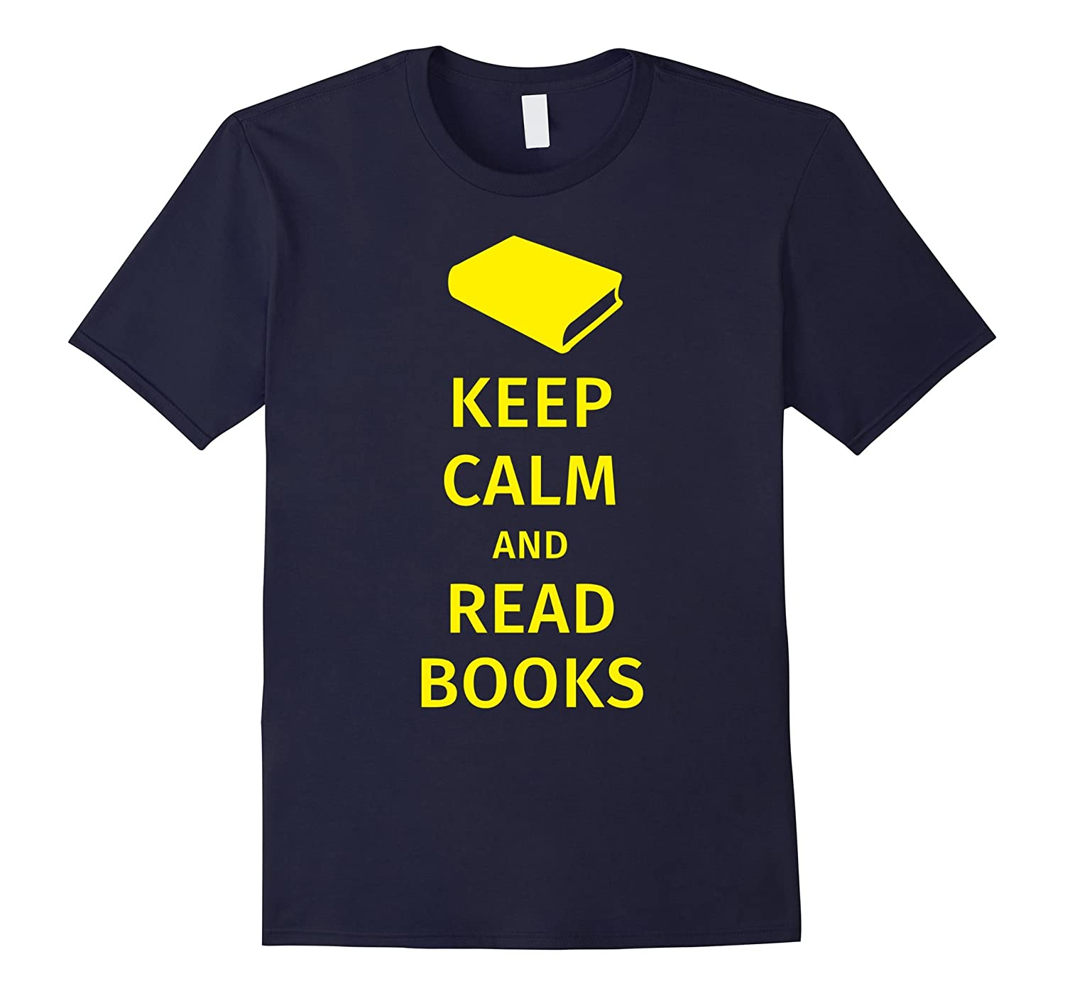 Book lover clothes - book worm gifts - keep calm and read-CD