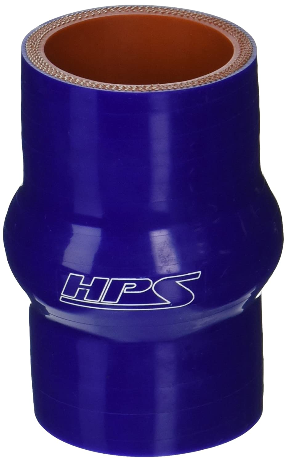 HPS HTSHC-150-BLUE Silicone High Temperature 4-ply Reinforced Straight Hump Coupler Hose, 100 PSI Maximum Pressure, 3' Length, 1-1/2' ID, Blue 3 Length 1-1/2 ID HPS Silicone Hoses