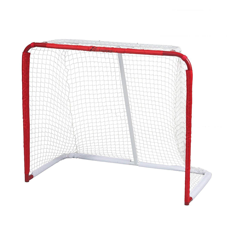 EastPoint Sports Phantom Steel Hockey Goal with Shot Trainer