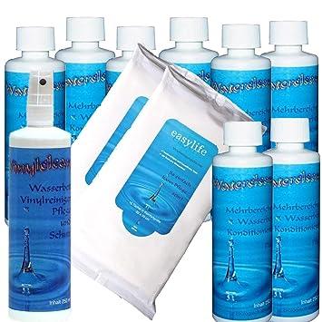 Camas de agua entrevista – Acondicionador Water Clean – 8 x 250 ml y vinilo clean