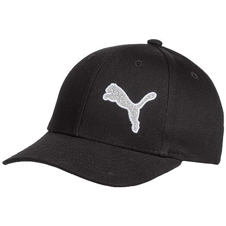 Amazon.com   PUMA Youth Big Kid Junior Hat Evercat Black Adjustable ... 4ced6476488