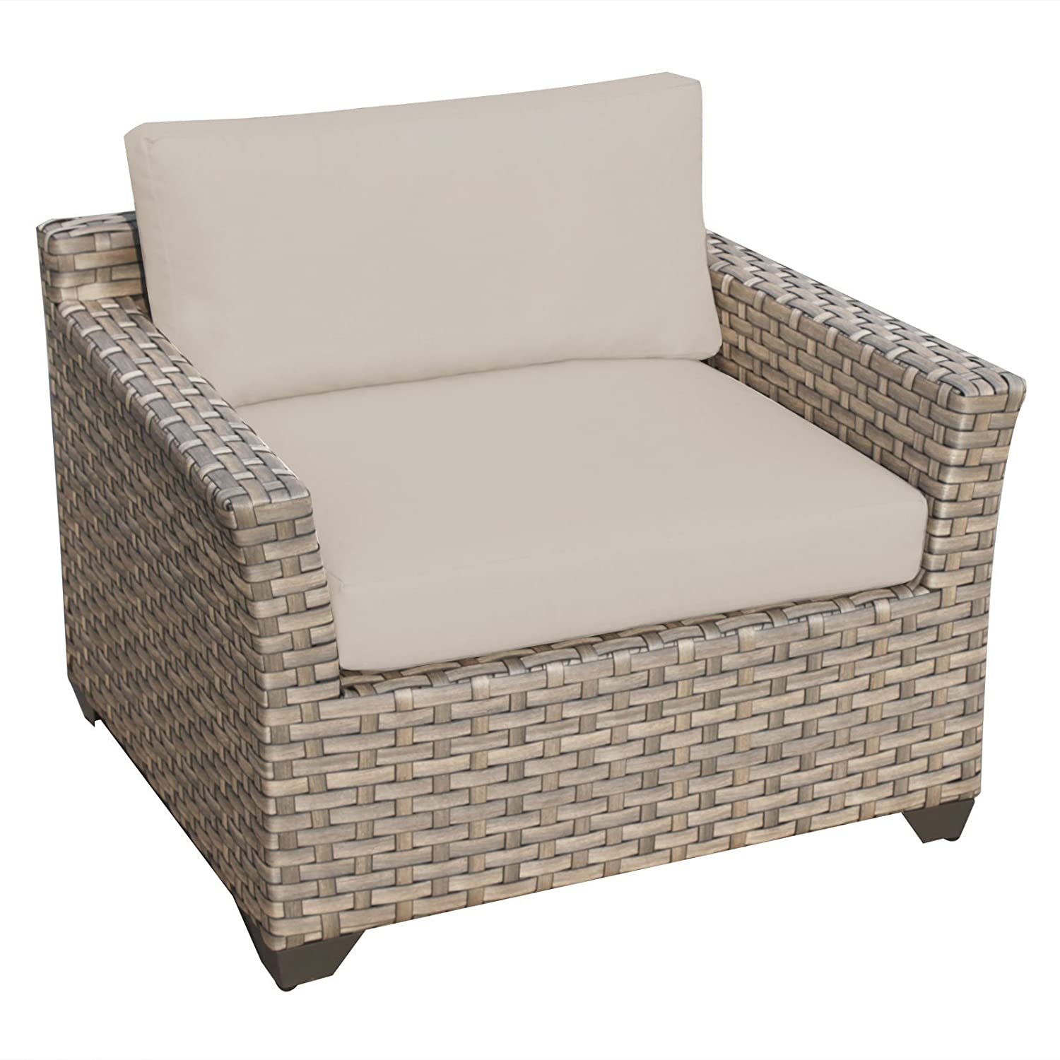 Amazon Hampton 7 Piece Outdoor Wicker Patio Furniture Set 07d