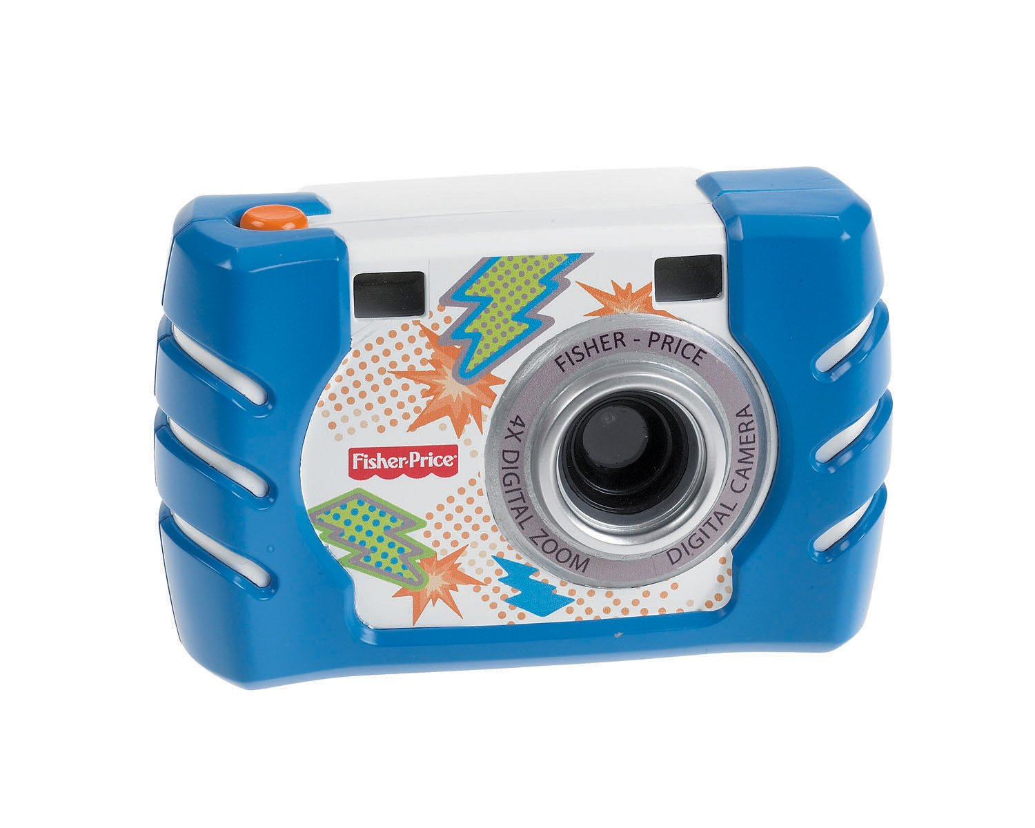 Fisher-Price Kid-Tough Digital Camera, Blue Fisher Price W1459
