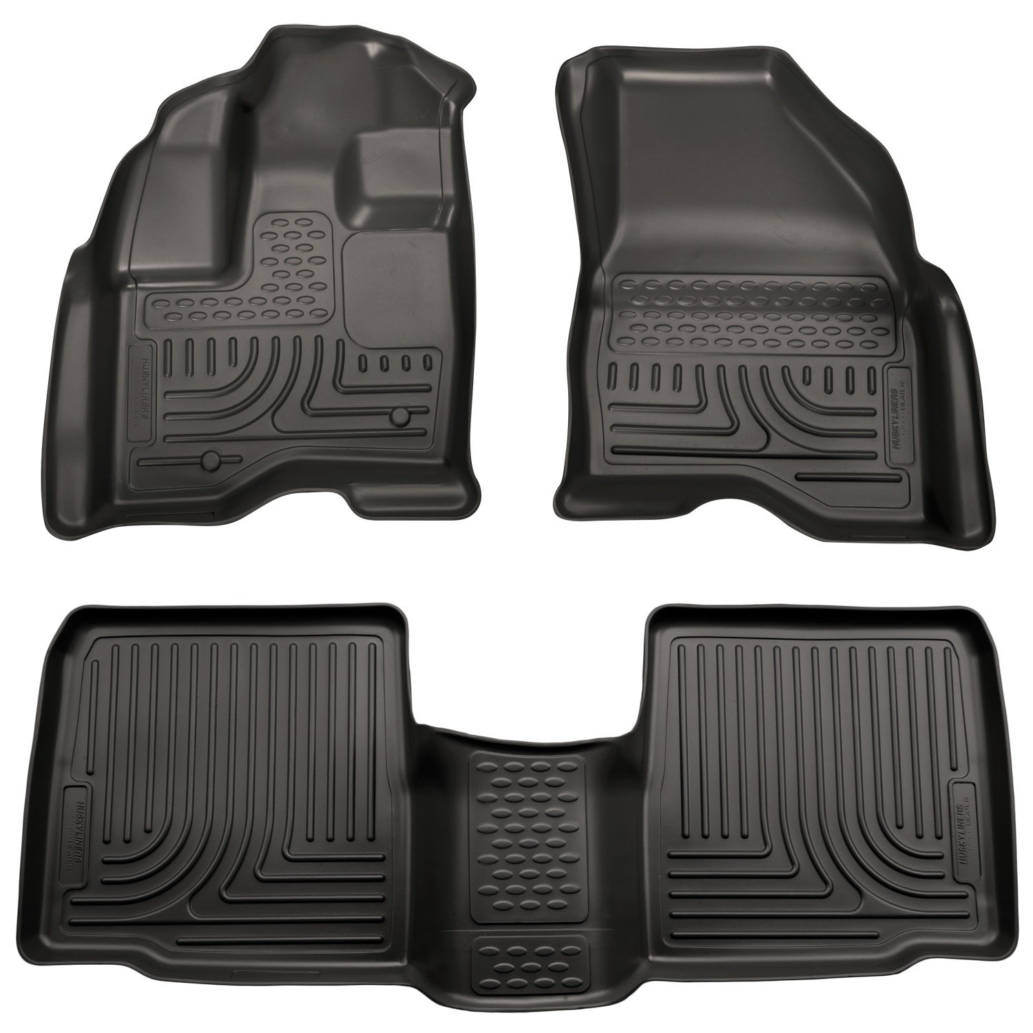 Amazon com husky liners front 2nd seat floor liners fits 11 14 explorer automotive