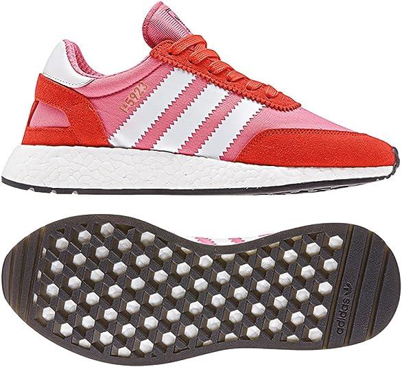 adidas Originals I-5923 W, Chalk Pink-Footwear White-Bold Orange, 4: Amazon.es: Zapatos y complementos