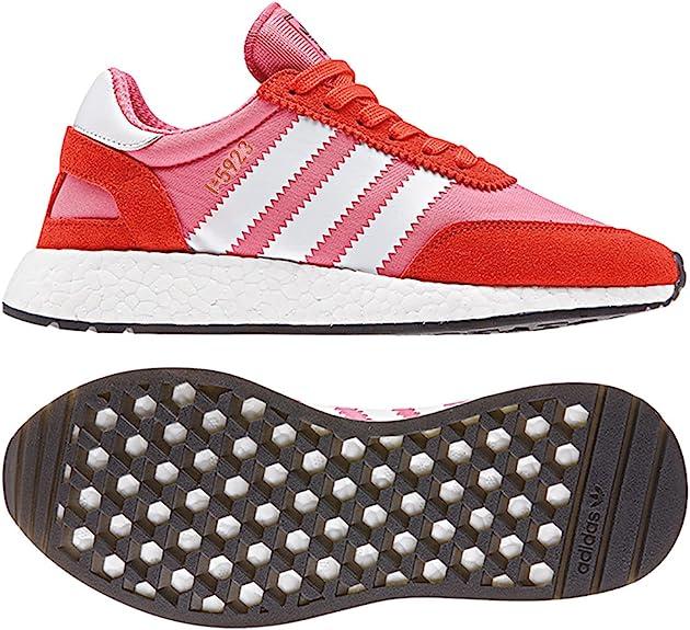 adidas Originals I-5923 W, Chalk Pink-Footwear White-Bold Orange, 6: Amazon.es: Zapatos y complementos