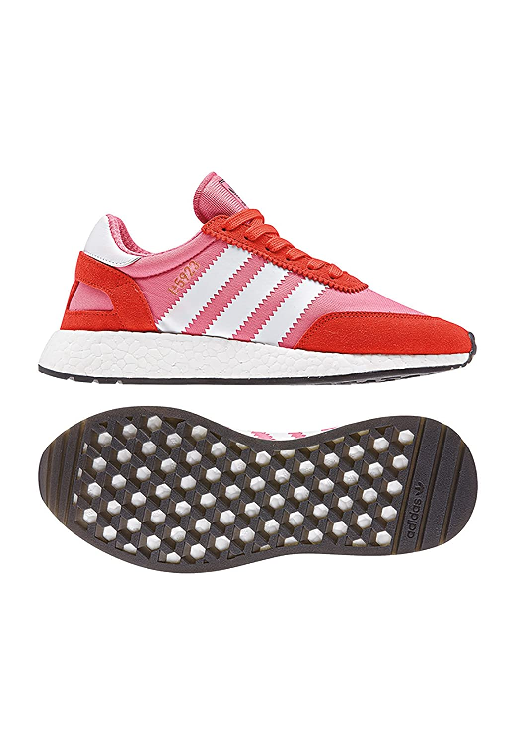 Adidas I 5923 W Chalk Pink White Bold Orange 38: ADIDAS