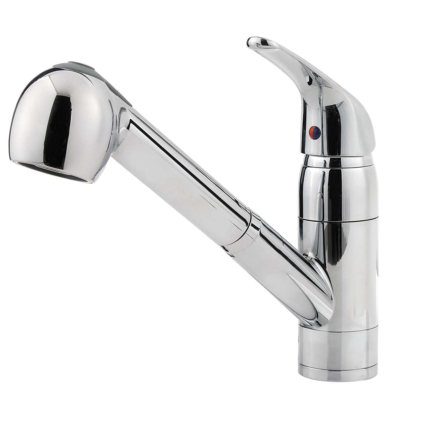 Pfister Pfirst Series 1 Handle Pull Out Kitchen Faucet Polished